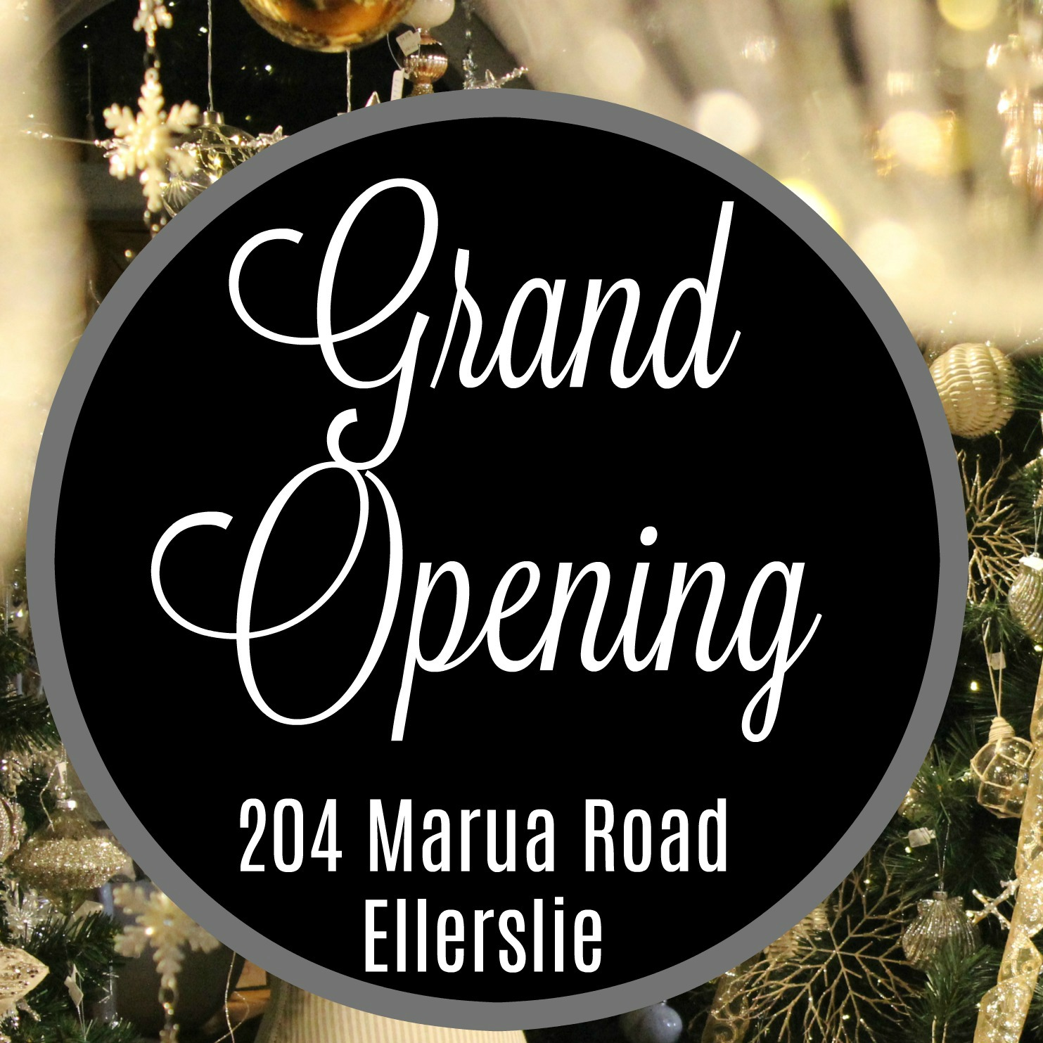 The Christmas Heirloom Company Grand Opening at Ellerslie 2017